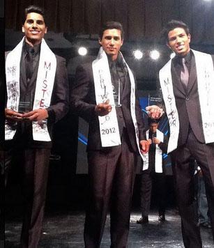 Mister Peru 2012 winner Lambayeque Rodrigo Fernandini