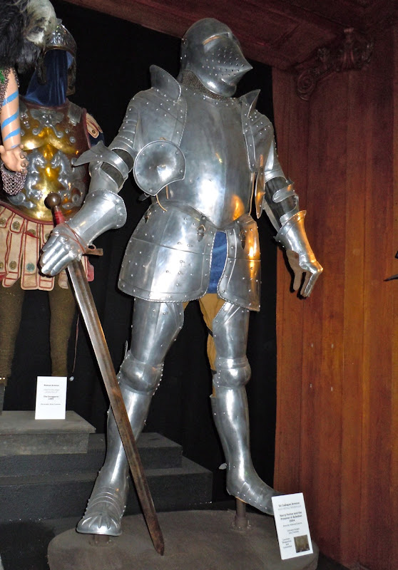 Sir Cadogan armour Harry Potter