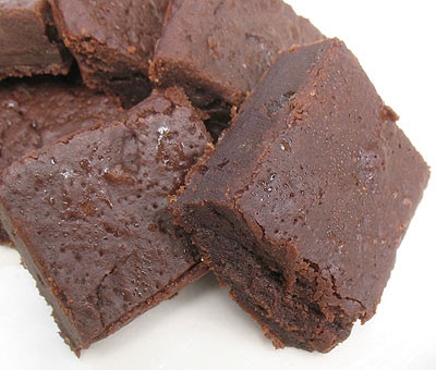 Quick and Easy Brownies with Xylitol
