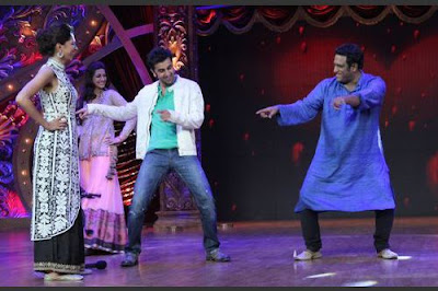 Ranbir & Deepika Promotion dance on the sets of Dramebaaz
