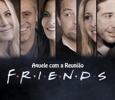Ross, Monica, Rachel, Phoebe, Joey e Chandler retornam após onze anos para gravar um novo episódio especial de Friends