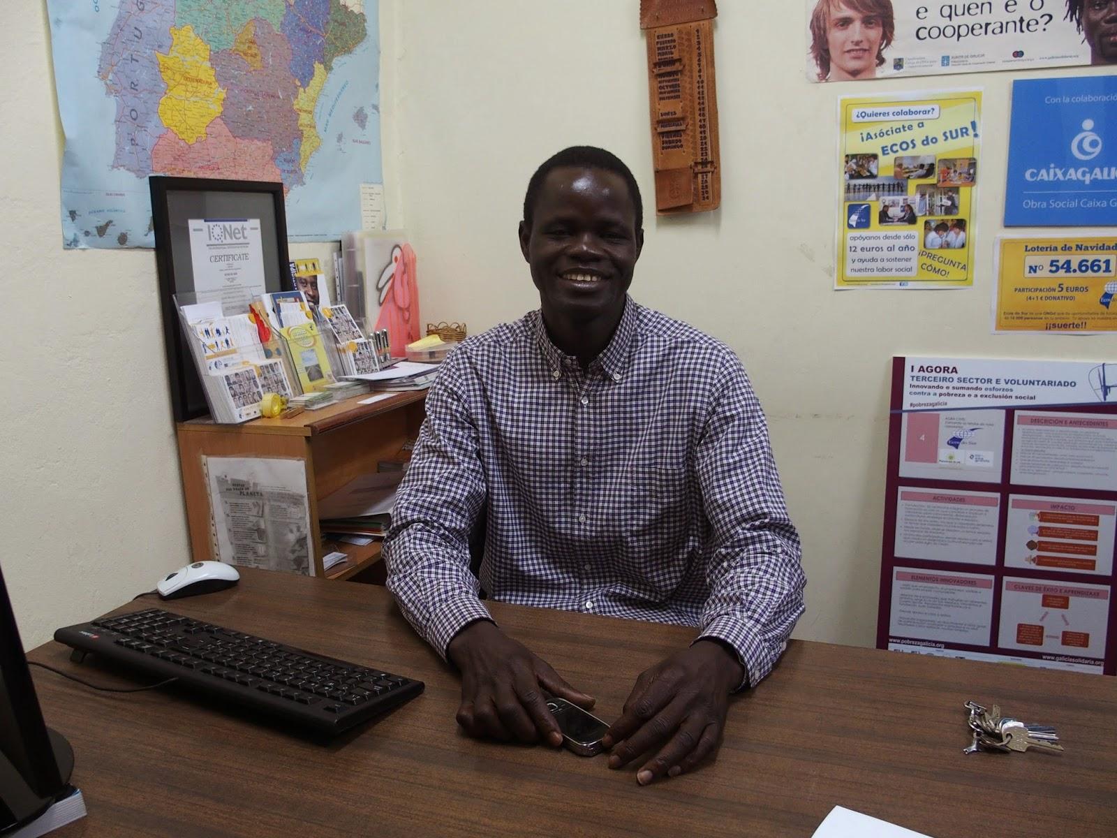 Mediador Senegales en Ecos do Sur