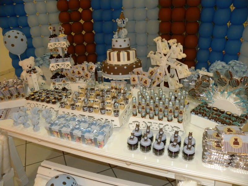 decoracao festa urso azul e marrom:RITMO DE FESTA – PARTE 2