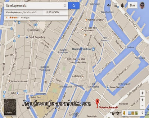 阿姆斯特丹跳蚤市场地图