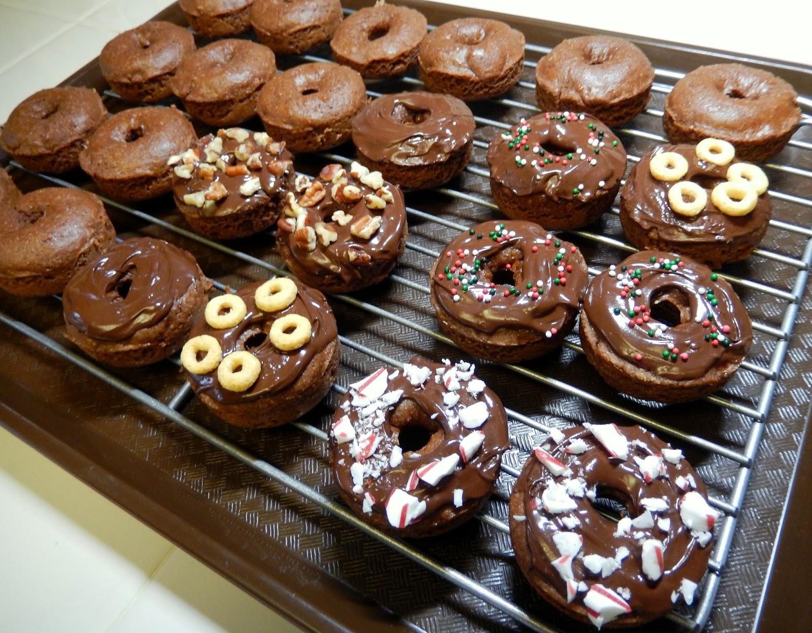 Protein%2BDonuts%2BDoughnuts Weight Loss Recipes Christmas Tree Trimming Treats