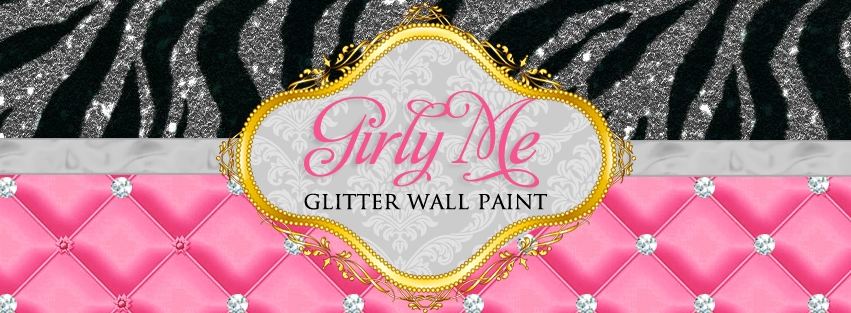 Girly Me Glitter Wall Paint