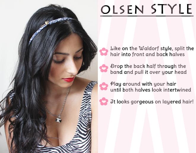 How To Wear Headband Celebrity Inspired