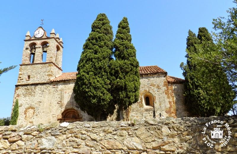CASTELNOU (66) - Eglise romane Sainte Marie del Mercadal