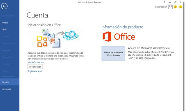 cap1 Microsoft Office Professional Plus 2013 Preview 32 y 64 Bits Español  1 Link