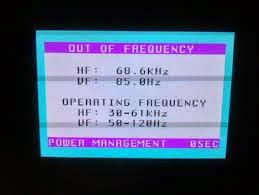 """Cara Mengatasi Monitor Yang Mengalami """" Out From Frequensy"""""""