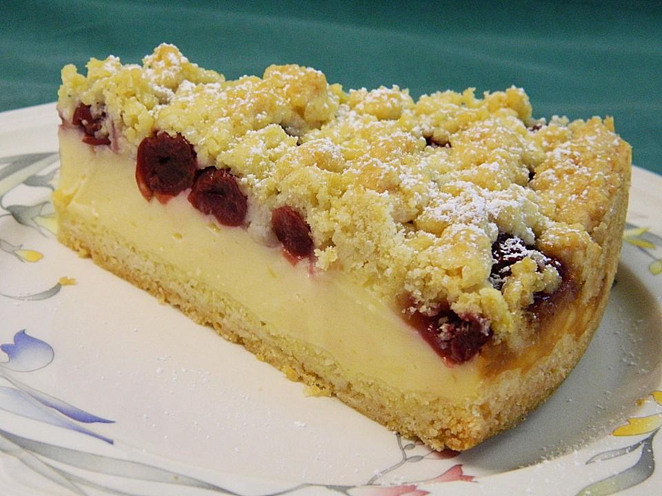 Kirschkuchen Blech Pudding : s e rezepte kirschkuchen mit streuseln ~ Lizthompson.info Haus und Dekorationen