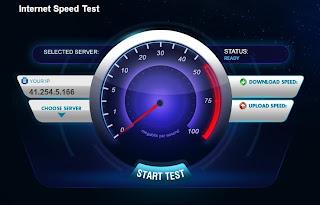 4 مواقع لقياس سرعة الانترنت الحقيقية لديك