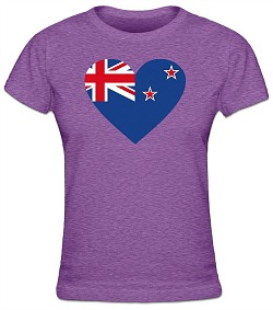 Australian Ladies Purple T-Shirt