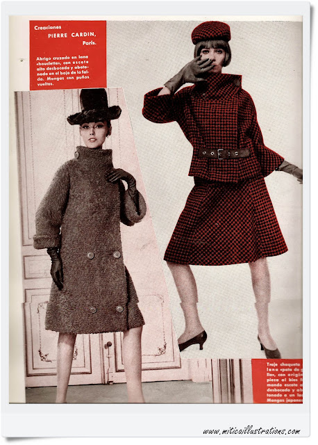 Vintage fashion magazine 1960-29050-