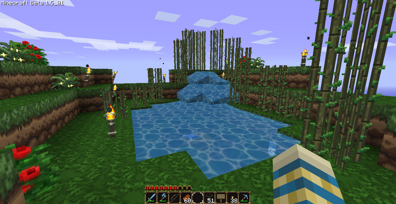 Rubbish the minecraft bug has bit me - Minecraft garden designs ...