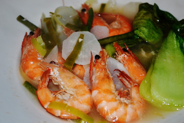 Sinigang na Hipon Recipe