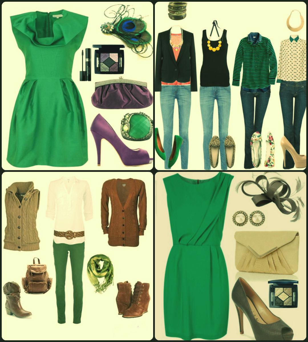Red carpet ecuador tips para combinar los colores de tu ropa - Colores que combinan con verde ...