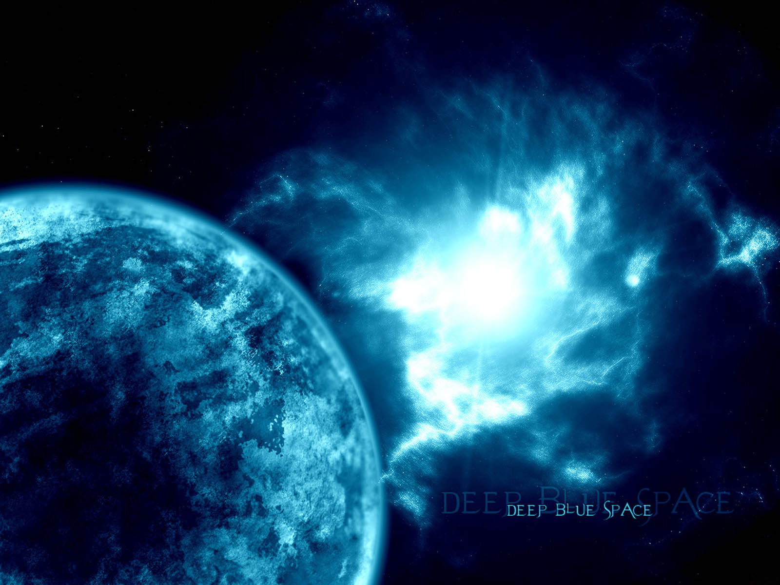 blue space background wallpapers - photo #39