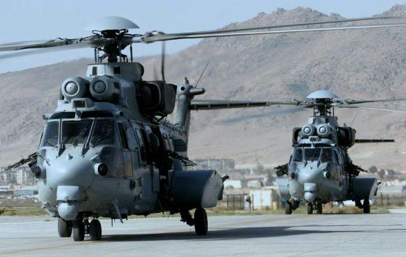 Helikopter Cougar EC725