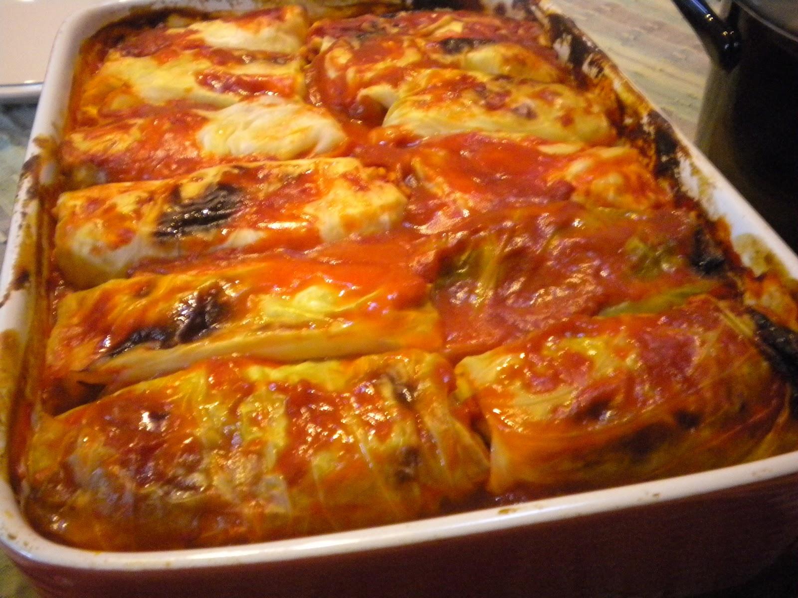 Gormandize: Posna Sarma (Croatian Rice-filled Cabbage Rolls)