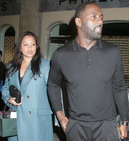 Idris elba goes public with new relationship and has a possible baby