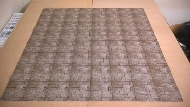 ceri designs flagstone wargaming mat