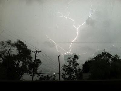 lightning photo with iphone