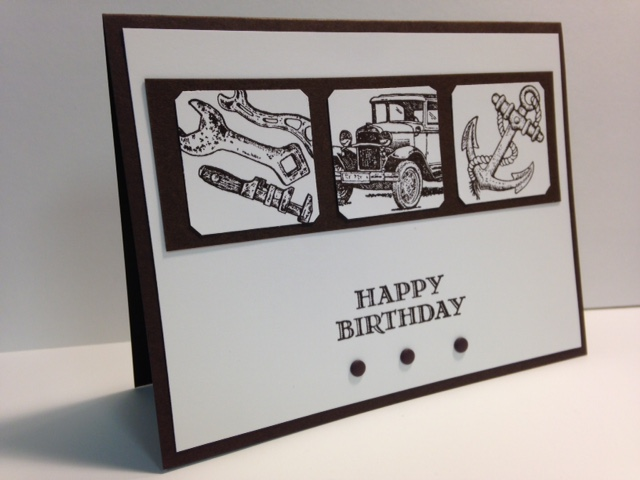 My Creative Corner A Guy Greetings Masculine Birthday Card