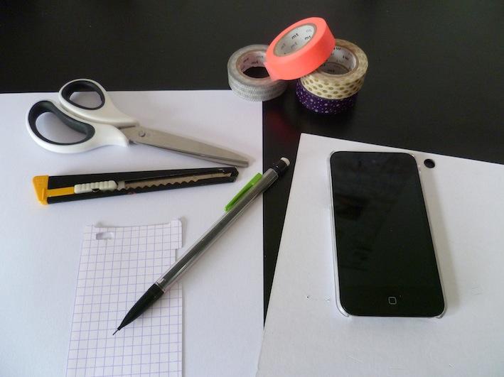 mon petit monde blog lifestyle customisation d 39 une coque d 39 ipod. Black Bedroom Furniture Sets. Home Design Ideas