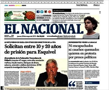 P0RTADA EL NACIONAL