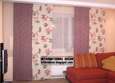 Fashionable Japanese Curtain For Living Room