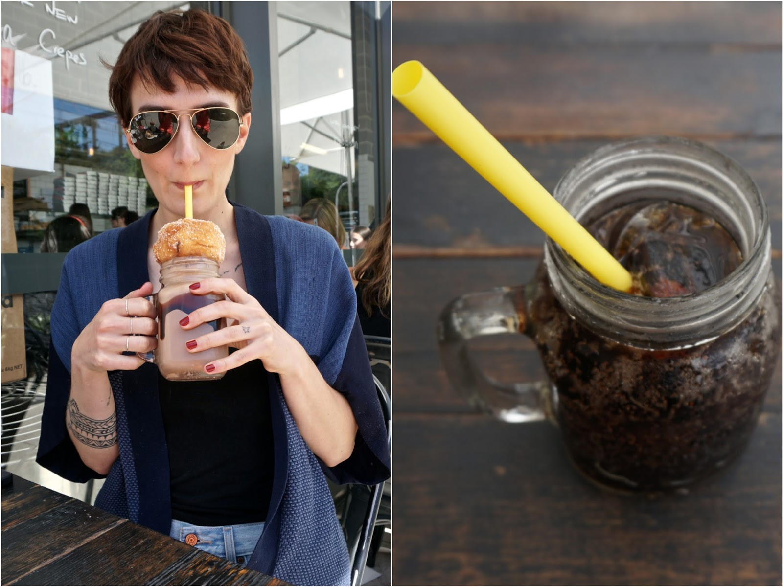 foodcraft espresso and bakery burgers tella balls milkshake Ttotaler tea good adresse Sydney Australia lexie blush