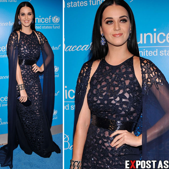 Katy Perry: Unicef SnowFlake Ball 2012 em New York - 27 de Novembro de 2012