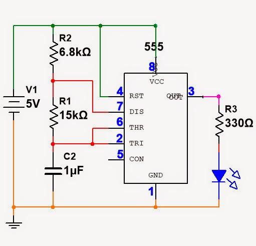 Circuito Oscilador : E casta generador de pulsos