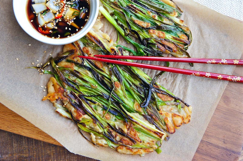 Seasaltwithfood: Pajeon~Korean Green Onion Pancake