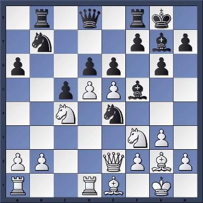 Les Blancs jouent et gagnent en 1 coup
