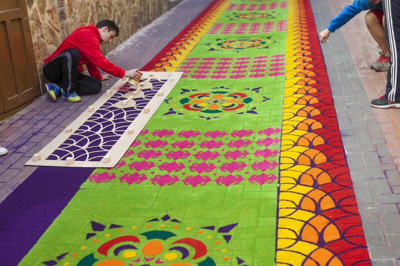 El rendrijero alfombras de serr n for El paraiso de las alfombras