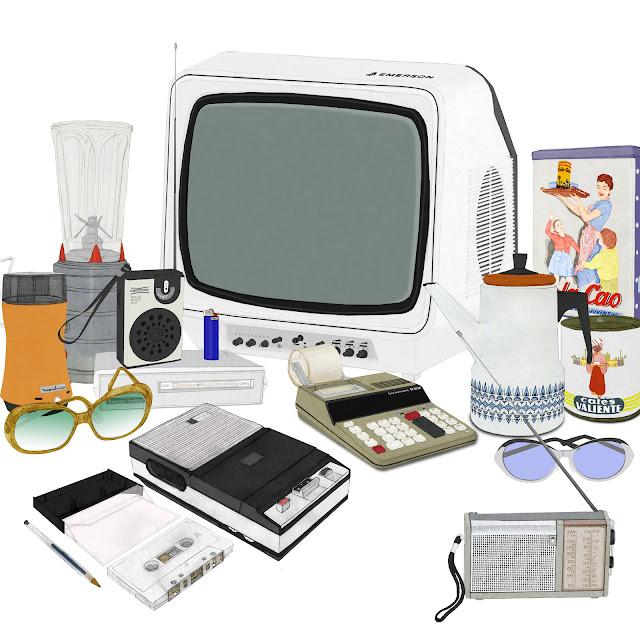 Electrodomesticos, dibujos , coleciones museo etnologia, Valencia