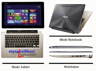 Harga Laptop Asus Transformer Book
