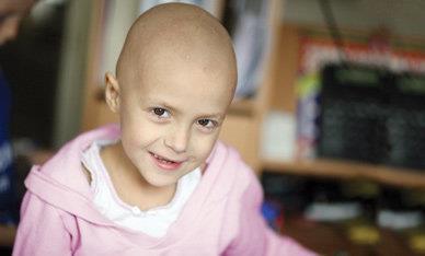 kræftramte børn
