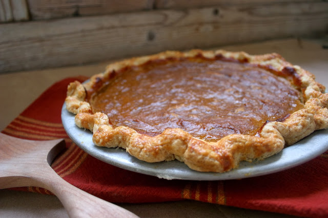 Pumpkin & Big Spoon Roasters Chai Spice Nut Butter Pie