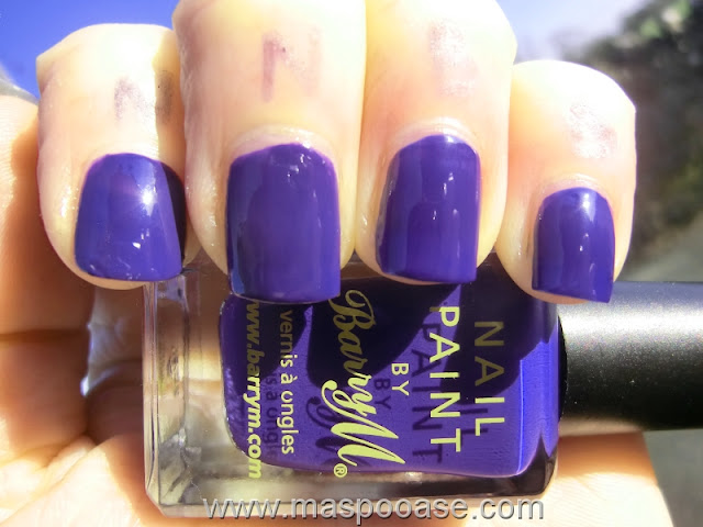 Nails Inc Belgrave Place vs Barry M Indigo