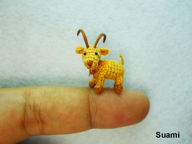 adorable tiny miniature crochet animals su ami-10
