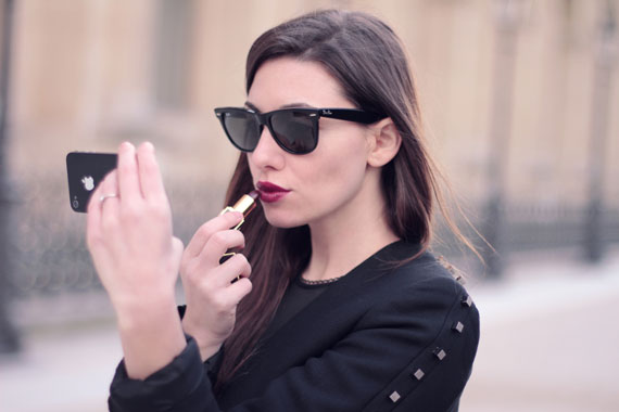 bazaar touching up her tom ford lipstick in black orchid image via. Cars Review. Best American Auto & Cars Review