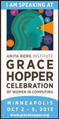 Grace Hopper  Conference 2013