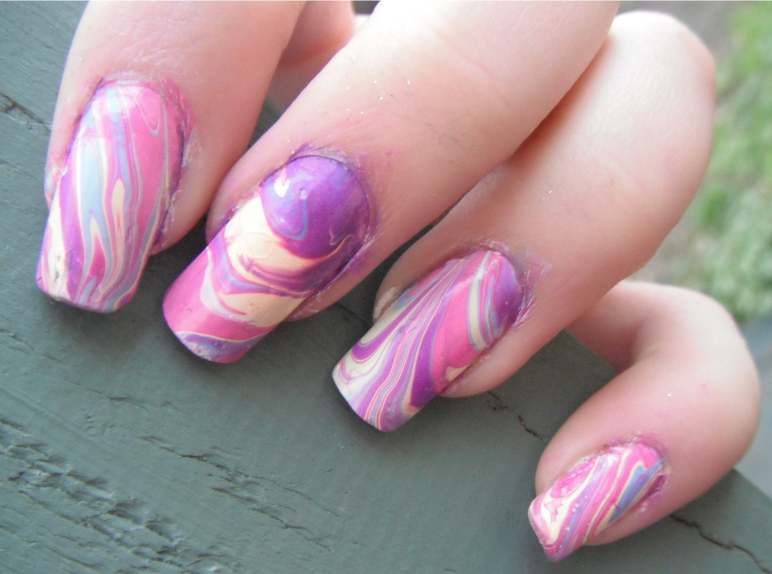 Nail Designs In Water Nail Art Designs