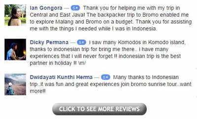 Indonesian Trip Testimonials