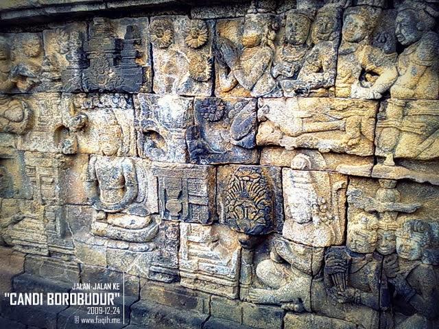 Relief di Candi Borobudur