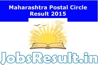 Maharashtra Postal Circle Result 2015