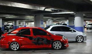 Modifikasi Toyota Vios